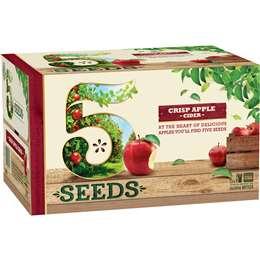 Cider Apple Cider 5 Seeds Crisp Apple Cider 24x345ml