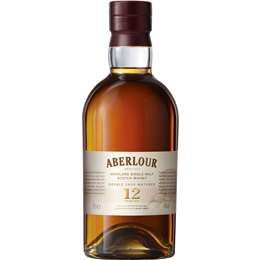 Spirits Whisky Aberlour Cask Whisky 12 Year Old 700ml